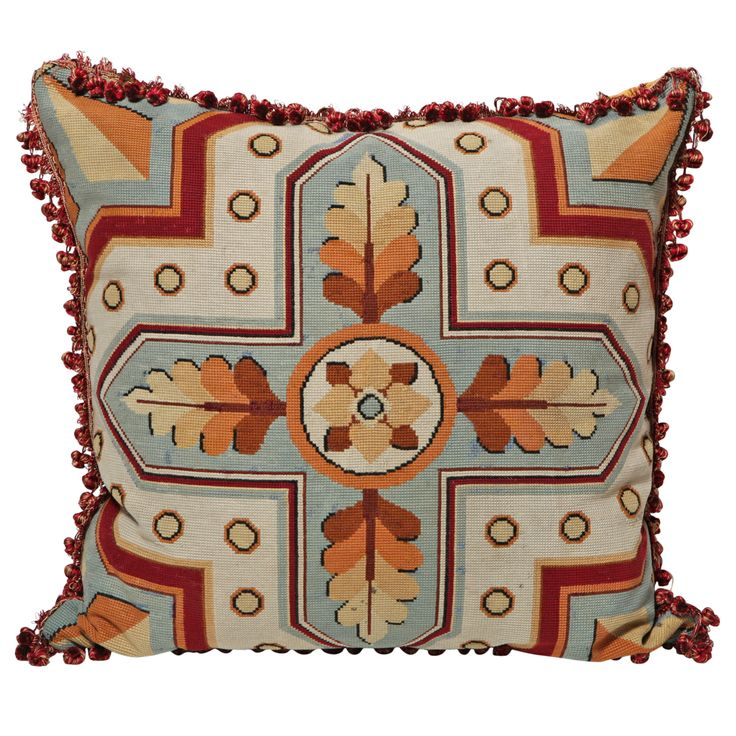 Modern Pillow And Throws : 235 best Needlepoint Furniture images on Pinterest Embroidery, Needlepoint and Couches