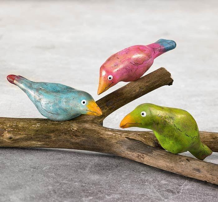 Färgglada fåglar - Slöjd-Detaljer