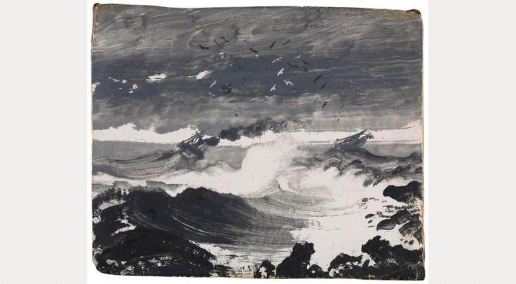 Peder Balke, The Tempest, c.1862