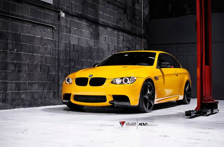 New BMW M3 in Atacama Yellow <3