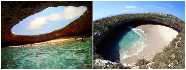 Decorazón enlaplaya, decuerpo enlaoficina... Playa del Amor, isla Marieta, Mexico (Y) visitarnos en https://www.despegar.com.co/me/bookings/flights/index/eticket?md=-295624265032711990 #Angiexitosa #LetsGoColombia