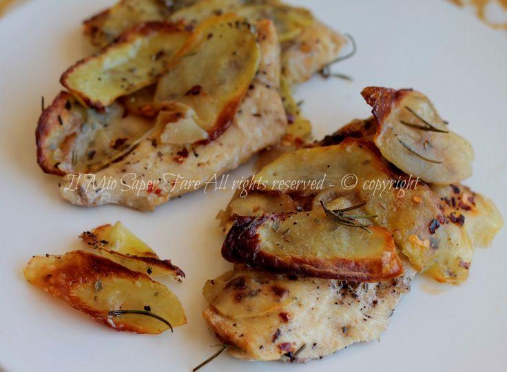 Pollo in crosta di patate - ricette con petto di pollo il mio saper fare