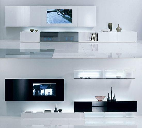 17 mejores im genes sobre mueble para televisor en for Ver modulares modernos