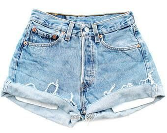 Girl's Vintage Levi's Cutoff Shorts 2