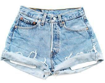 Girl's Vintage Levi's Cutoff Shorts 2