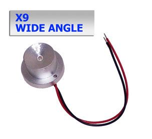 X9 3W Wide Angle LED Module w/ Aluminum Housing