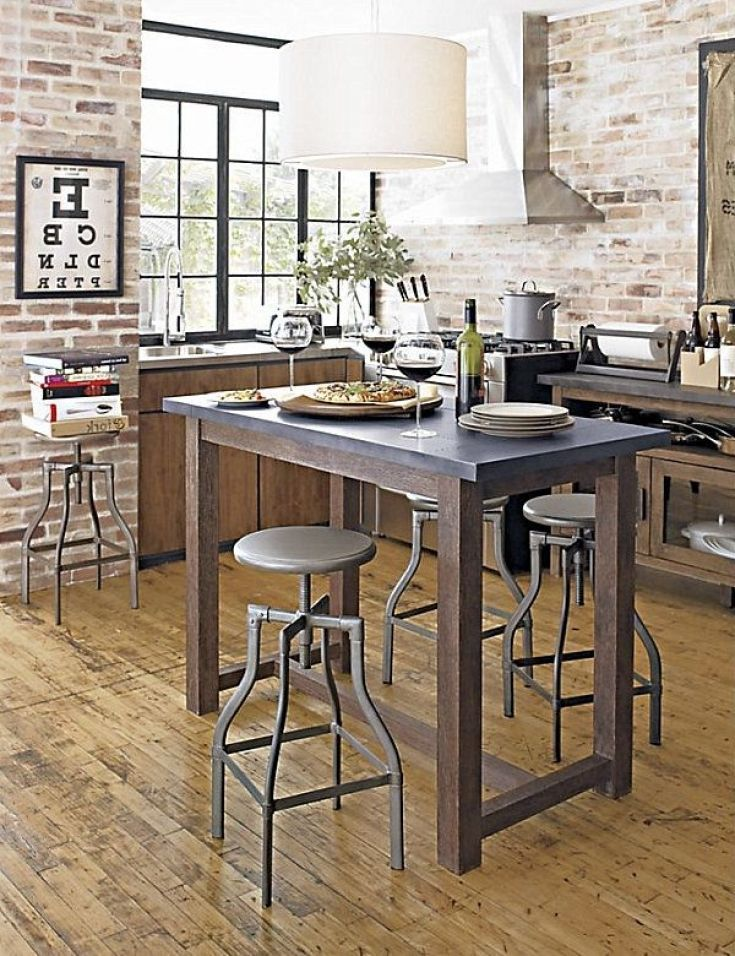 Inspirational High Top Kitchen Island Design Photo