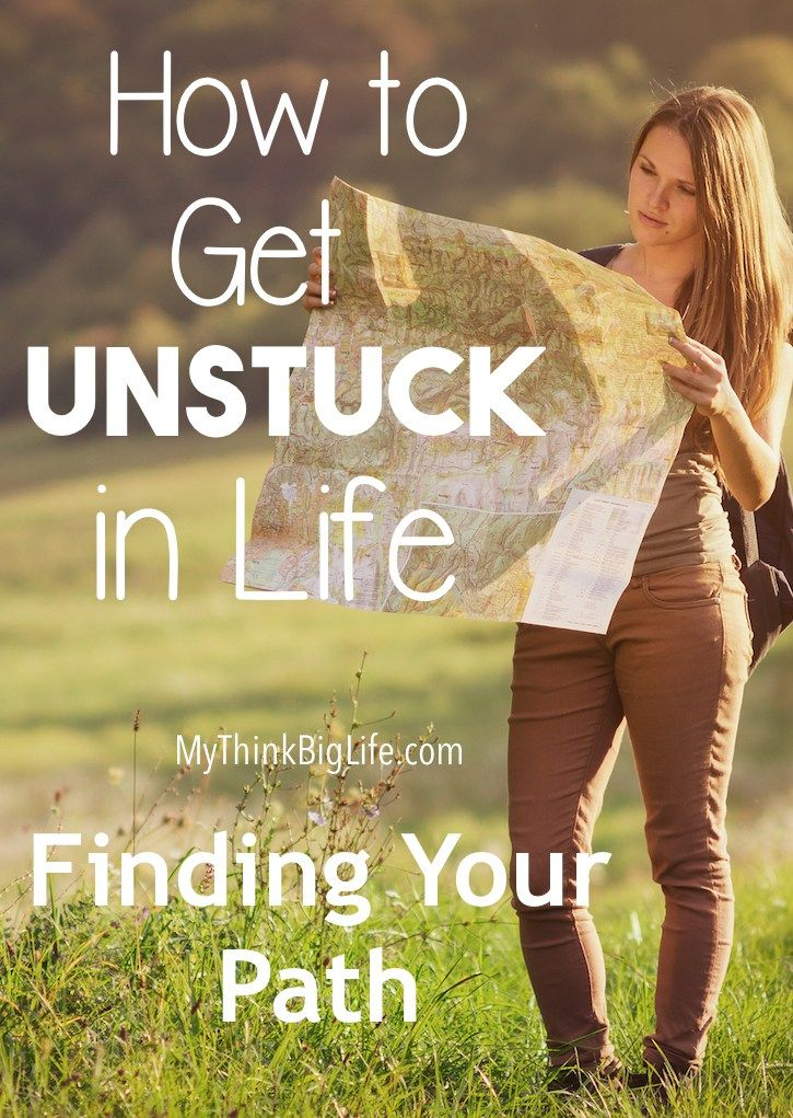How to get unstuck in life can be a problem when we don't even know what we want…
