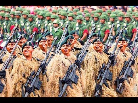 Fuerzas Especiales México 2017 Desfile MIlitar/Special Forces - Mexico 2017