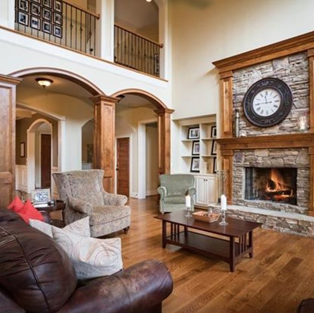 25 Olivia Circle, Alexander, North Carolina is a 37-acre private gated estate on French Broad River enjoys panoramic mountain and river views. Relax on the expansive deck with the sound of rushing water. Trails lead to private creek and waterfall. Timberline custom home with open floor plan features cook's kitchen, fireplaces, coffered ceilings and luxe master suite. Four acres fenced and beautifully landscaped. 3,000-square-foot unfinished, framed, walk-out basement, backup generator, and…