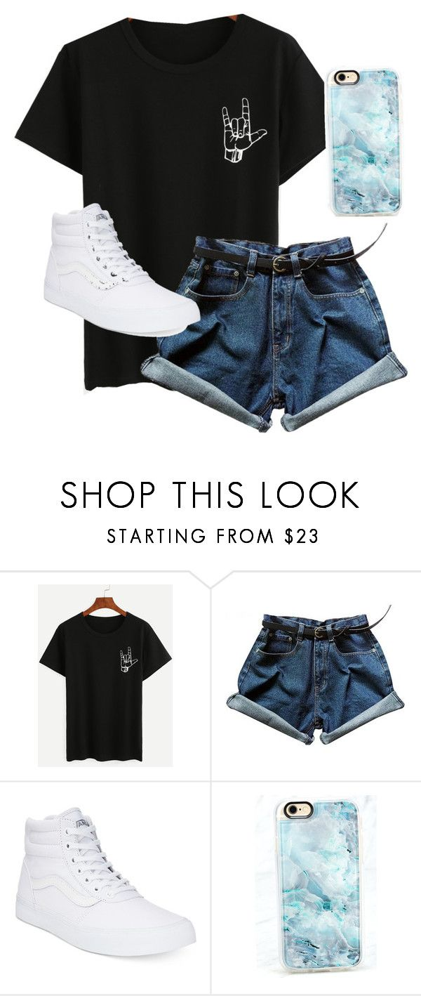 """""""./../...........././../.././...///.///"""" by anna-mae-equils on Polyvore featuring Vans and Casetify"""