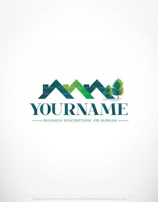 97 besten online real estate logo templates bilder auf for Real estate design software