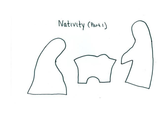 15 best nativity yard art images on pinterest garden art On nativity cut out patterns wood