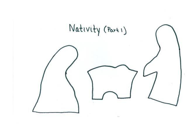 Nativity Set pattern | Wintertime & the Holidays! | Pinterest