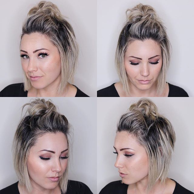 This top knot is my new go to for my crazy mom life. I ended up wearing this hairstyle for 2 days in a row. That is hair goals right there! Low maintenance people!!!!! That's what I need. AND.... I got so many compliments so I decided to post about it because.. why not!?! I'll be doing a hair tutorial on my YouTube channel soon on how to achieve this look. So keep your eyes open for that! In the meantime, I hope y'all have a great weekend!!!