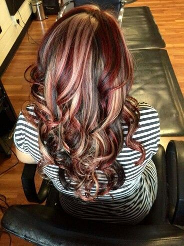 This color is amazing. Wish I had the nerve to do it and knew someone who would do a good job.: