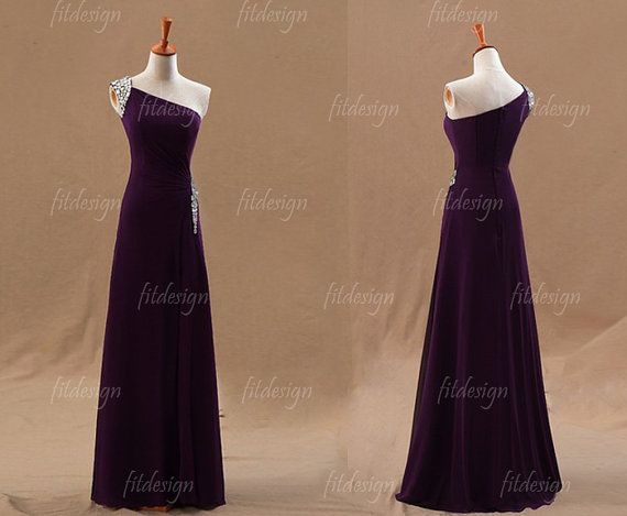 Hey, I found this really awesome Etsy listing at https://www.etsy.com/listing/162340092/purple-prom-dress-long-prom-dress  Color = Amazing!!! Love the rhinestones too!