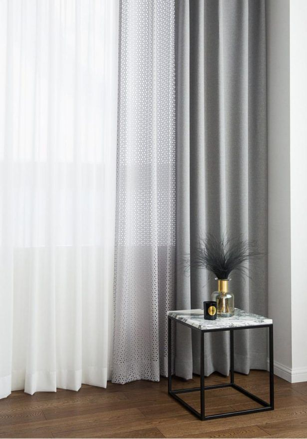 Graue Vorhange Schweres Gewicht Paar Blackout Vorhange Vorhang