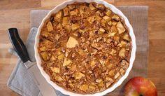 Havermout appel taart voor ontbijt2