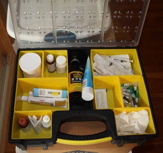A Well Stocked Rabbit Medicine Kit