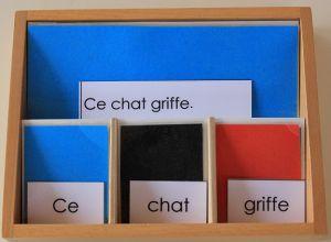 La grammaire ça s'apprend tout petit : le déterminant, l'adverbe, la préposition… | Lycée International Montessori – Ecole Athéna – Le blog de Sylvie d'E.