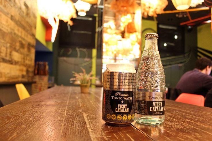 https://flic.kr/p/EKnavz | Premium Tonic Water by Vichy Catalan | Fotografías realizadas en el Generator Hostel Barcelona