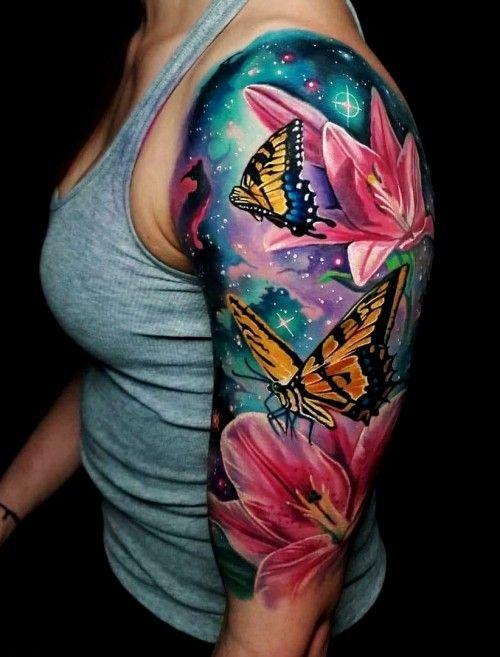 75 Ideen und Tipps für Ihr erstes oder nächstes Oberarm Tattoo