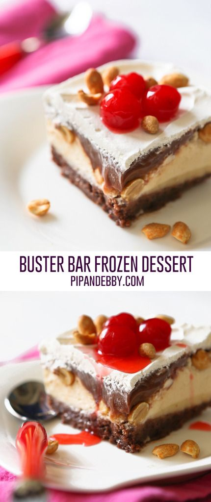 Buster Bar Frozen Dessert | Tastes just like the DQ original in bar form!