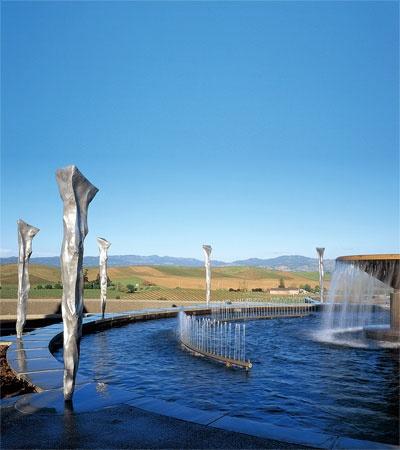 Artesa #Winery, artwork by Gordon Huether Napa Valley