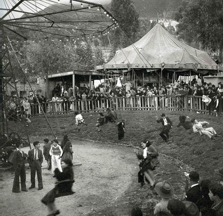 Una feria en 1930, Bogotá, Colombia