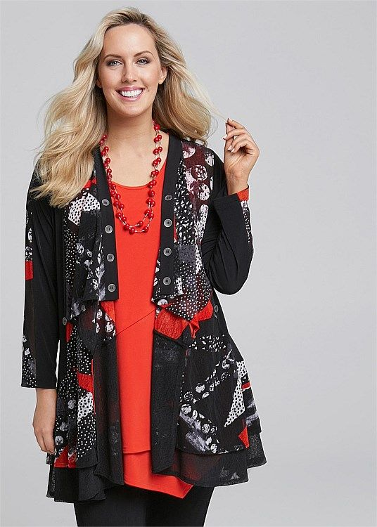 Plus Size Womens Cardigans Online In Australia MONTAGE