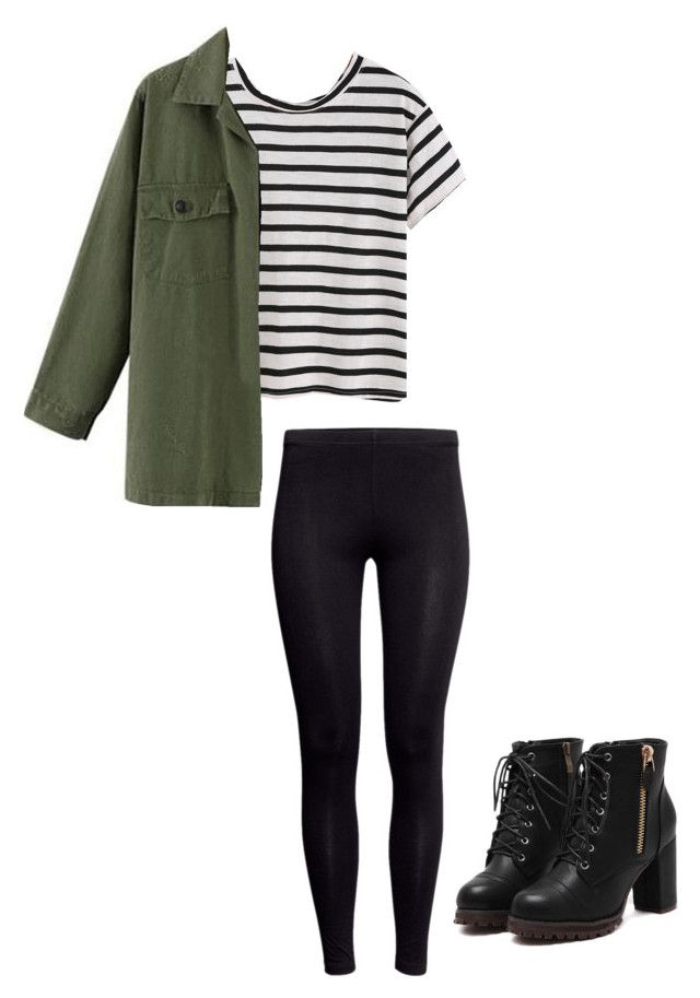 """Winter outfits for teens"" by madisenharris on Polyvore featuring H&M, women's clothing, women's fashion, women, female, woman, misses and juniors"