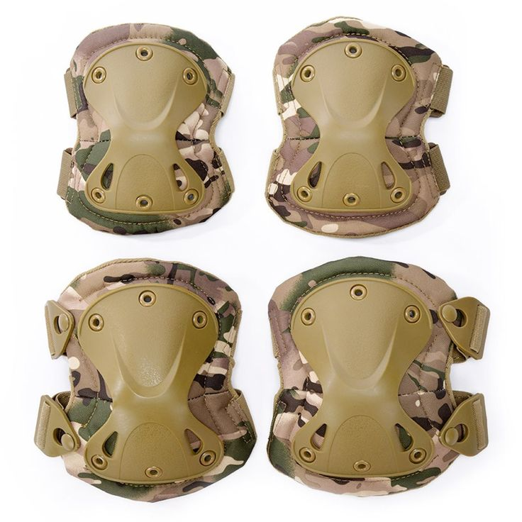 Military Tactical Knee Pads set Combat Airsoft Paintball Gear Hunting Equipment Elbow Protector //Price: $32.99 & FREE Shipping //     #tacticalgear #survivalgear #tactical #survival #edc #everydaycarry #tacticool #hunting #camping #outdoors #pocketdump #knives #knifeporn  #knife #army #gear #freedom #knifecommunity #airsoft