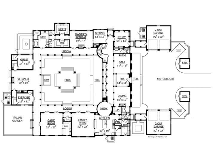 Gate House Plan - Architectural Designs