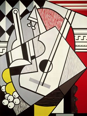 Lichtenstein - Cubist Still Life (1974)