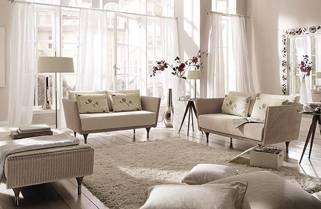 Sofa TAO 150, Sitzbank TAO mit Beistelltisch SUNNY 01