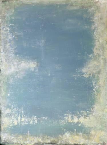 Ivory Blues by Artem Bryl. Acrylics on canvas, 122 X 91 cm. #reflection #calmness #inspiration.