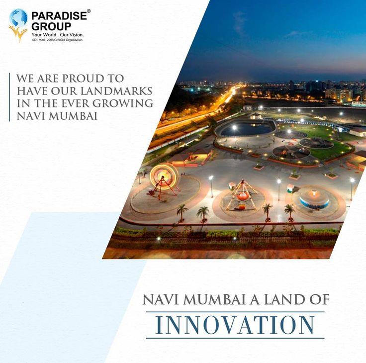 #NaviMumbaiTrivia  Navi Mumbai - A land of Innovation  www.paradisegroup.co.in  Contact: 022 2783 1000  #paradise #paradisebuilders #realestate #luxury #luxurioushouse #realtor #propertymanagement #bestpropertyrates #homesellers #bestexperience #homebuyers #dreamhome #mumbai