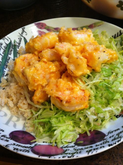 Bangin' Shrimp, adapted from Skinny Taste Shrimp Recipe
