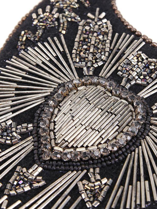 Wool embellished detail
