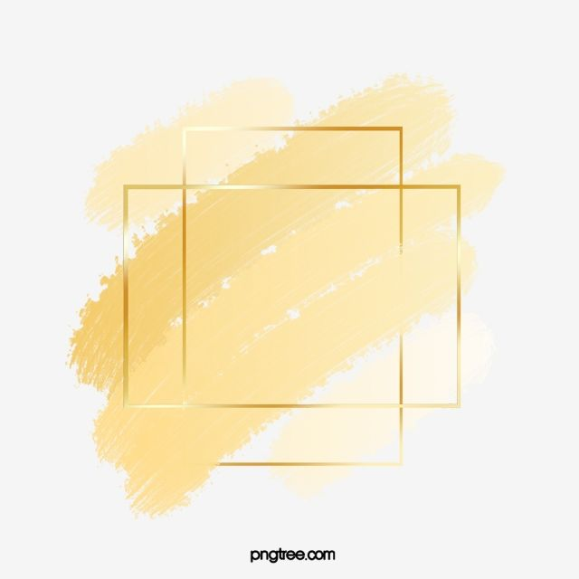 Fresh Style Yellow Gradient Square Gold Border Square Fresh Style Luxury Png Transparent Clipart Image And Psd File For Free Download Watercolor Logo Design Fresh Styles Graphic Design Background Templates