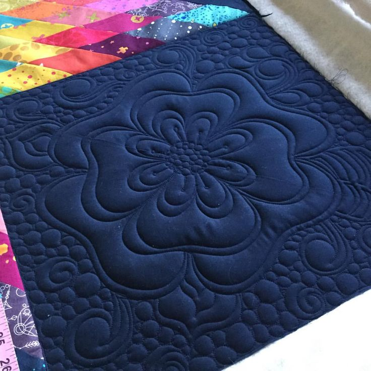 I like it so far! The blue #aurifil 2785 on the blue fabric is perfection…
