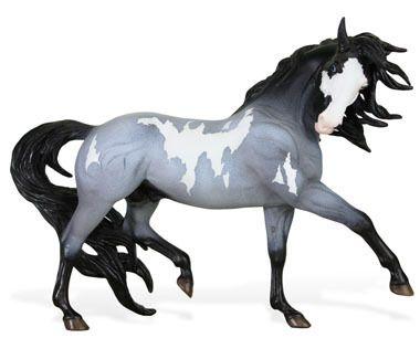 POSEIDON!  Blur Pinto Breyer horse