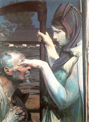 Jacek Malczewski's Death (1902, Oil on panel)