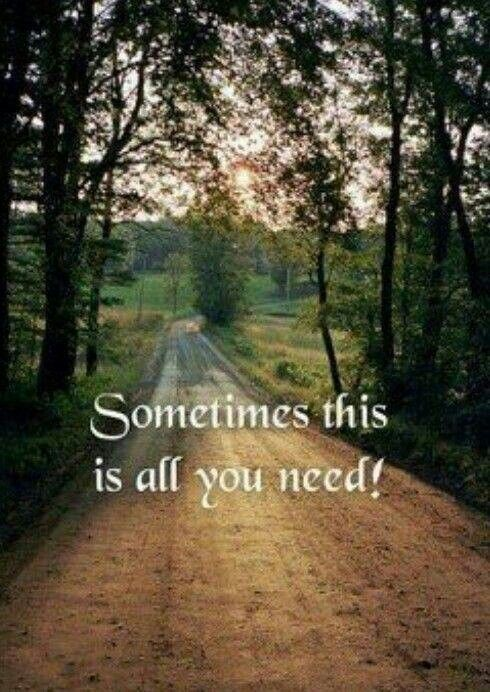Foot, Horse, Truck, 4-Wheeler, or Bike Just Get Out Into A Back Road And Be Part Of It!!! :)
