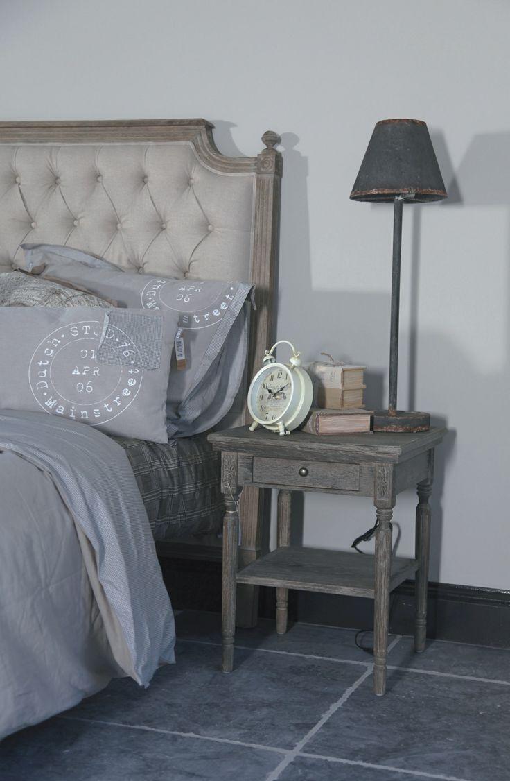 landelijk stoere slaapkamer