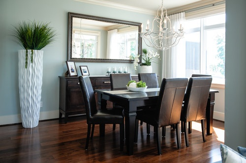 Waterfront Steveston Condo - eclectic - dining room - vancouver - The Spotted Frog Designs #steveston #stevestonrealestate #SeanLawsonHOMES