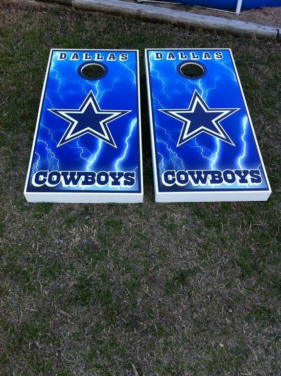 Dallas Cowboys Cornhole Board Wraps