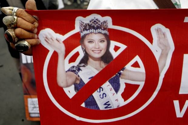 FUI Menolak Kontes Miss World