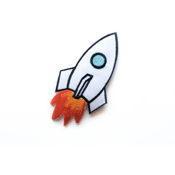 Space Shuttle Patch Space Iron-on Patches Space Craft Tattoo Appliqué... (77 MXN) ❤ liked on Polyvore featuring accessories